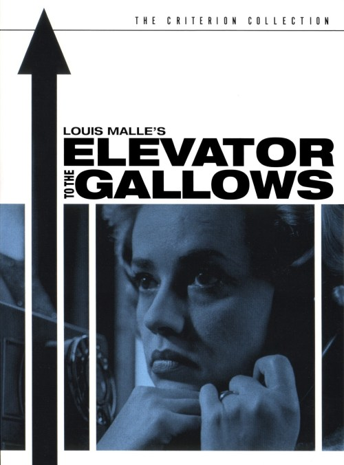 Engels affiche voor Elevator to the Gallows