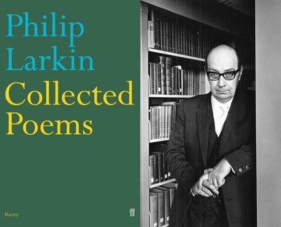 Boekomslag 'Collected Poems' van Philip Larkin