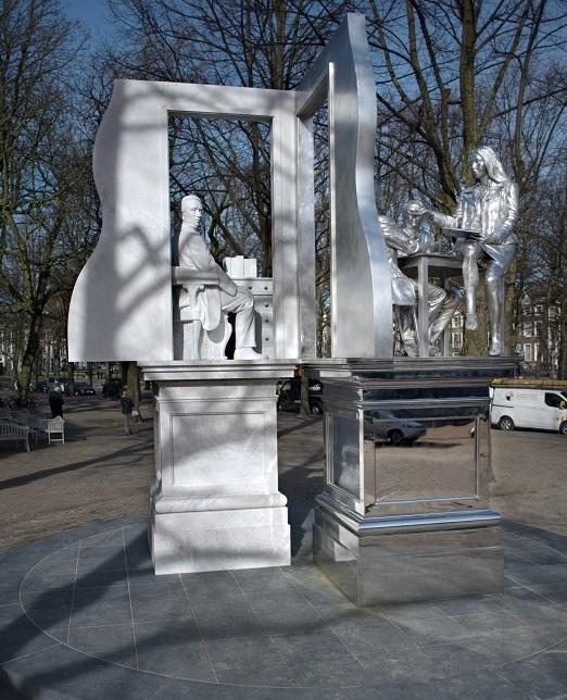 Standbeeld Thorbecke op Lange Voorhout