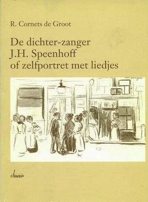 Versozijde omslag 'De dichter-zanger J.H. Speenhoff of zelfportret met liedjes ('90)'