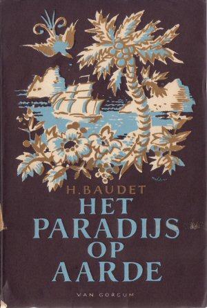 Omslag 'Het paradijs op aarde' van Baudet.