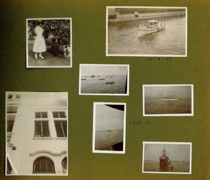 Indisch fotoalbum 1923-1925 p. 1 van 16