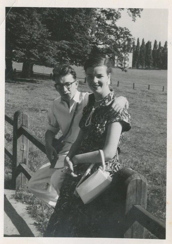 In Sonsbeek, zomer 1955