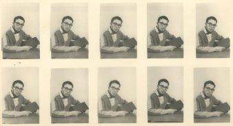 """Schoolfoto - 10 x Ru - april 1960"""