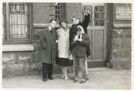 """Pasen - 17/18 april [1960] - Met Peter + Eliane in Amsterdam"""