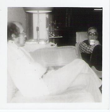 Thuis in Leiden met Heere Heeresma, 1977