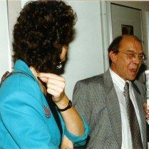 Met Leonarda, Letterkundig Museum, 10 september 1986