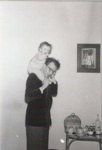 Met Andrea, ±1959.