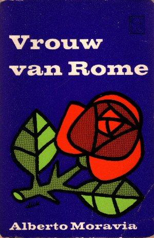 Omslag 'Vrouw van Rome'