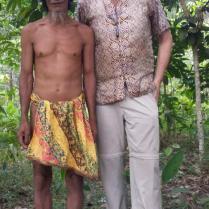Vriendschapsbanden tussen de Kubu en de belanda.