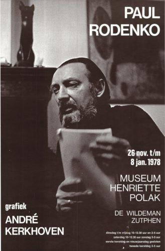 Affiche tentoonstelling