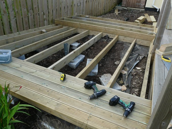 Decking Extension