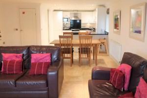 Trebetherick Ocean Blue Holiday apartment Cornwall spacious