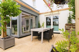 Waterhouse holiday home Cornwall outside dining