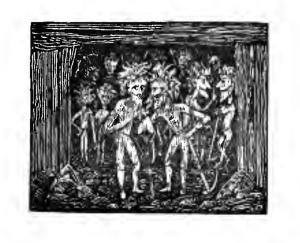 Illustration by JT Blight of Cornish knockers