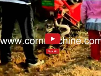 engine manual planter