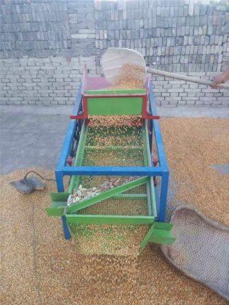 corn cleaning machine