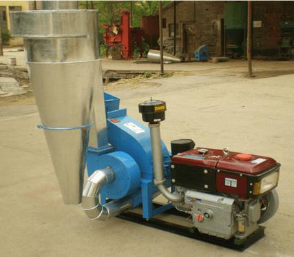 diesel grain grinder machine