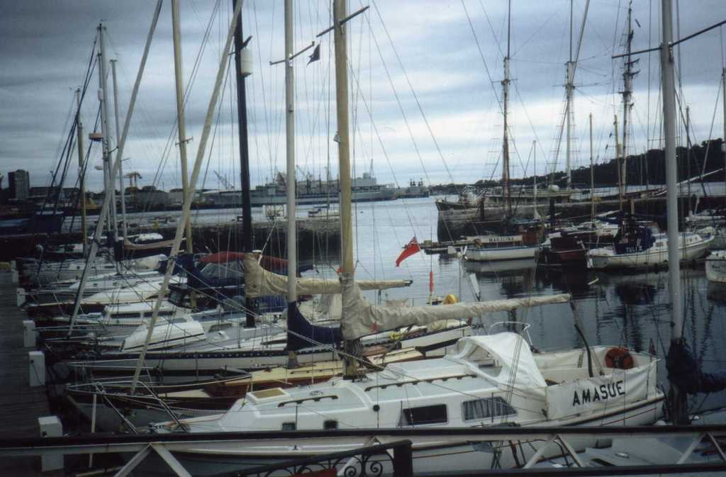 Figure No 3: The Ballast Pond as a Yachting Marina, c.2000.