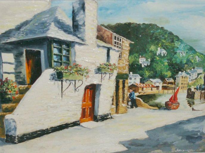 Jas R Richardson late 20th century art