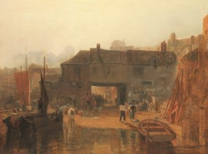 Turner - Saltash with the Water Ferry, Cornwall 1811