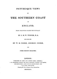 Picturesque Views on the Southern Coast of England 1826
