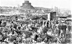 Cattle Market at Launceston c1931