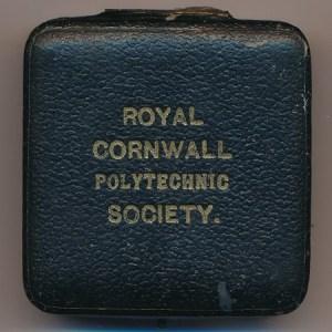 Lt Col F C Hirst Silver Medal 1st Class Box