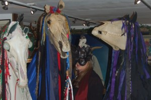 Osses in Museum of Witchcraft and Magic in Boscastle