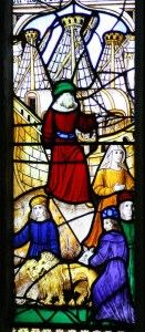St Neot - Noah and his family leave the ark