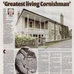 Ertach Kernow- Greatest Living Cornishman - Sir Arthur Quiller-Couch 'Q'