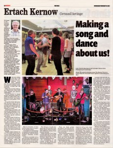 Ertach Kernow - Making a song and dance about us