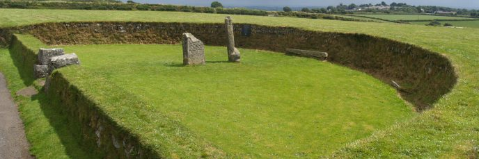 King Donierts Stone at St Cleer