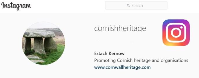Instagram Header - Association Cornish Heritage