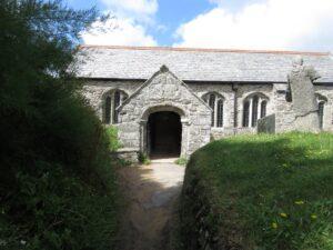 St Winwaloe, front entrance