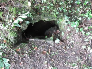 Ancient holy well at St Clement