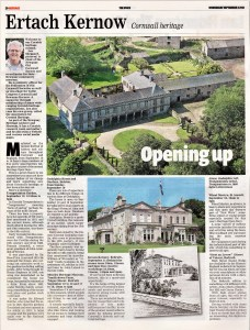 Ertach Kernow - Opening Up 'Heritage Open Days in Cornwall