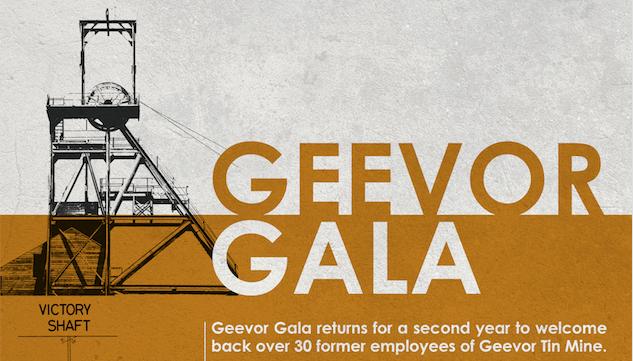 Geevor Gala, 3rd August 2018