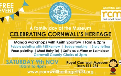 FREE Family Day at the Museum – Celebrating Cornwall's Heritage
