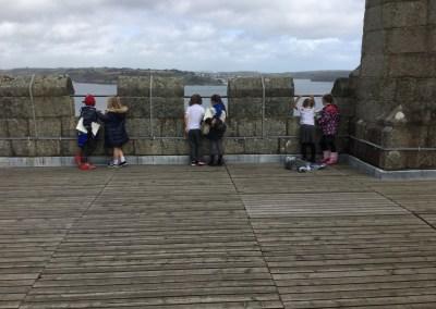 St Mary's CE Penzance visit Pendennis Castle