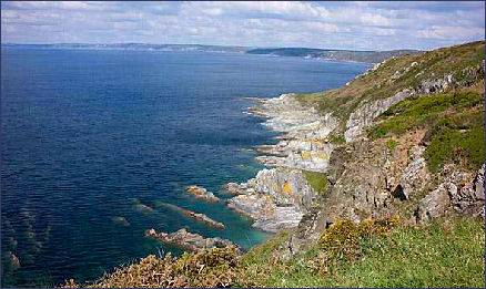 Cornwall Tour An Illustrated Guide To Cornwall Rame Head