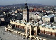 un'immagine dell'alto di Cracovia