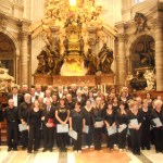 I cori di Viarolo e Bannone a Roma nella Basilica di San Pietro - 25 settembre 2011