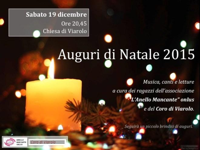 Locandina Natale a Viarolo 2015