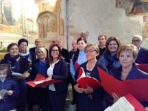 Coro di Viarolo nella chiesa di Roncole Verdi (PR), ottobre 2016