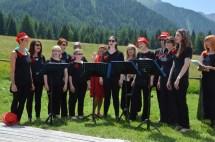 Festival Alta Pusteria 2017, esibizione alla Malga Huber, 24 giugno 2017