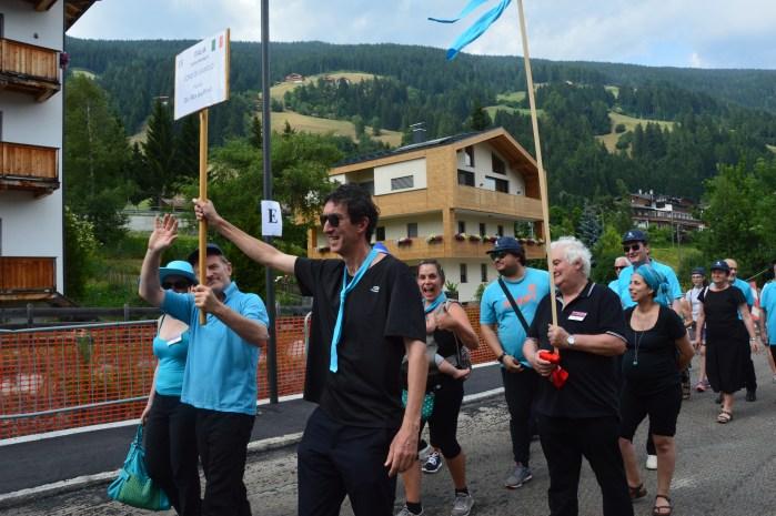 Festival Alta Pusteria 2017, sfilata dei cori per San Candido, 24 giugno 2017