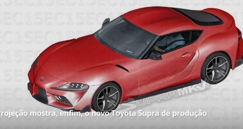 Projeção Revela o Novo Toyota Supra