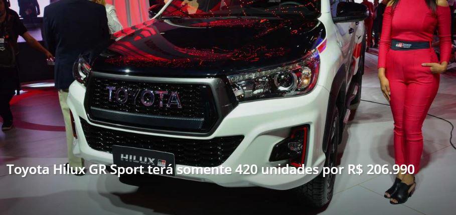 Nova Toyota Hilux