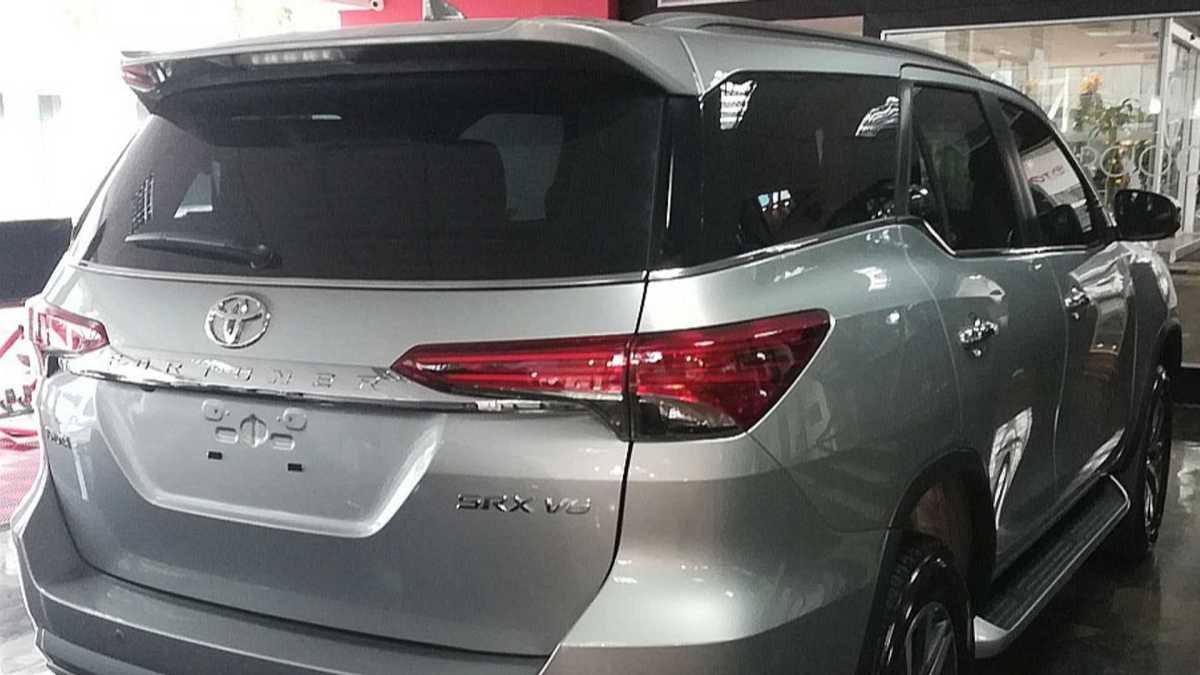 Toyota SW4 V6 na argentina